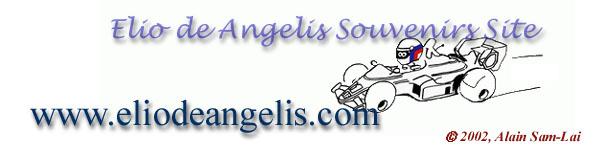 www.eliodeangelis.com - Elio De Angelis #11 Souvenirs Site